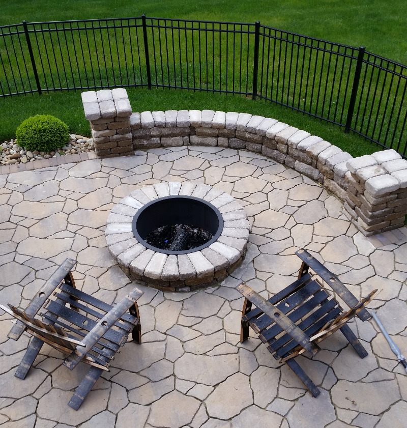 hardscapes columbus new albany louisville l thorn company